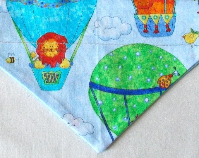Dog Bandana Hot Air Balloon Print