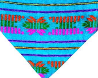 Over The Collar Dog Bandana, Serape Over the Collar Dog Bandana
