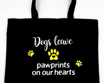Pet Tote Bag, Pet Canvas Tote Bag, Dog Grocery Tote Bag, Pet Grocery Tote Bag, Dog Beach Bag, Large Black Tote Bag, Large Tote Bag
