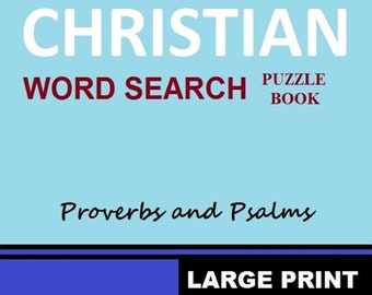 Christian 40 Word Search Puzzle Book For Kids, Adults And Seniors. Inspirational Word Search Puzzles For All Occasions