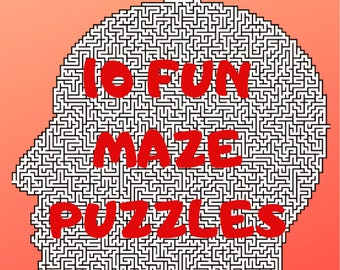 10 Tricky But Fun Maze Puzzles