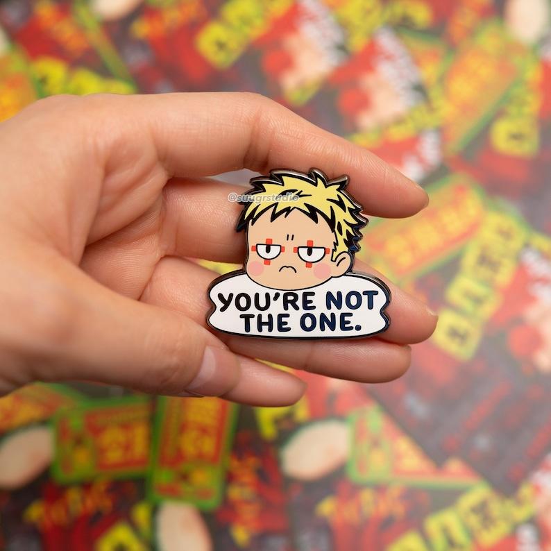 Dorohedoro You/'re not the one Risu Hard Enamel Pin