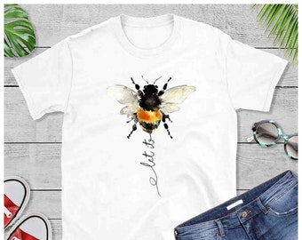 1994255c2 Let it be bee shirt funny, Save The Bees, Honey Bees, Bumble Bees, Beeswax,  Bee Kind, Pure Beeswax, Thank You Bees,Bees Kids Birthday