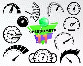 Speedometer vector   Etsy