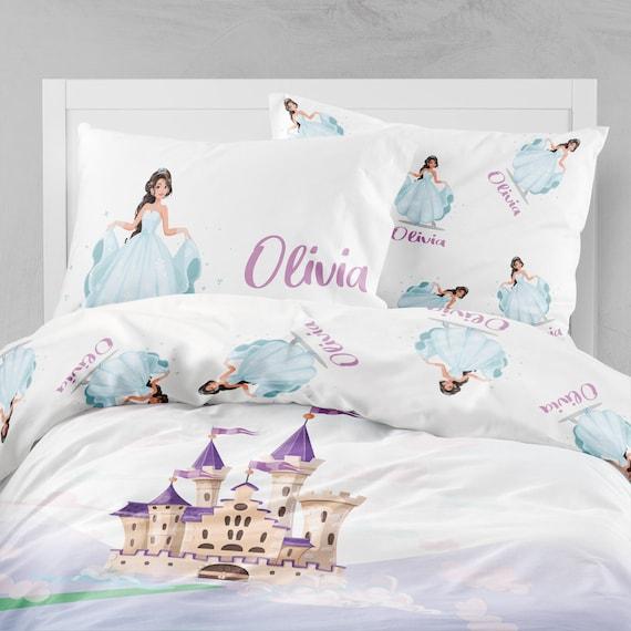 Princess Bedding Twin Comforter Duvet, Princess Bed Set Queen