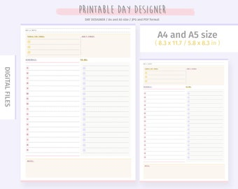 photograph about The Day Designer named Working day designer Etsy