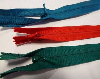 1pc Water Resistant Coil Zipper Width 6mm Length 60cm Nylon Open End Zippers ...