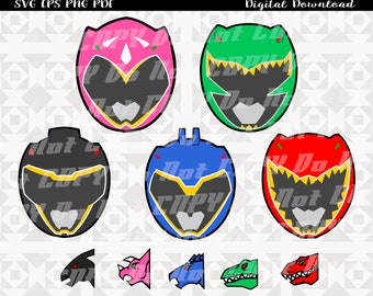 photo regarding Power Ranger Mask Printable named Electric power ranger mask Etsy