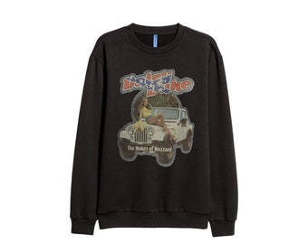 4726f78e Free shipping Daisy Duke BLACK WOMEN Sweatshirt Jumper retro sweater Tee  Shirts 90s women Slogan Sweatshirt Girl ALL sizes