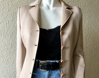 c0cd9b702c6f Moschino Couture Vintage Blazer - Designer Vintage Moschino Jacket -  Tailored Vintage Blazer - Vintage Couture Blazer