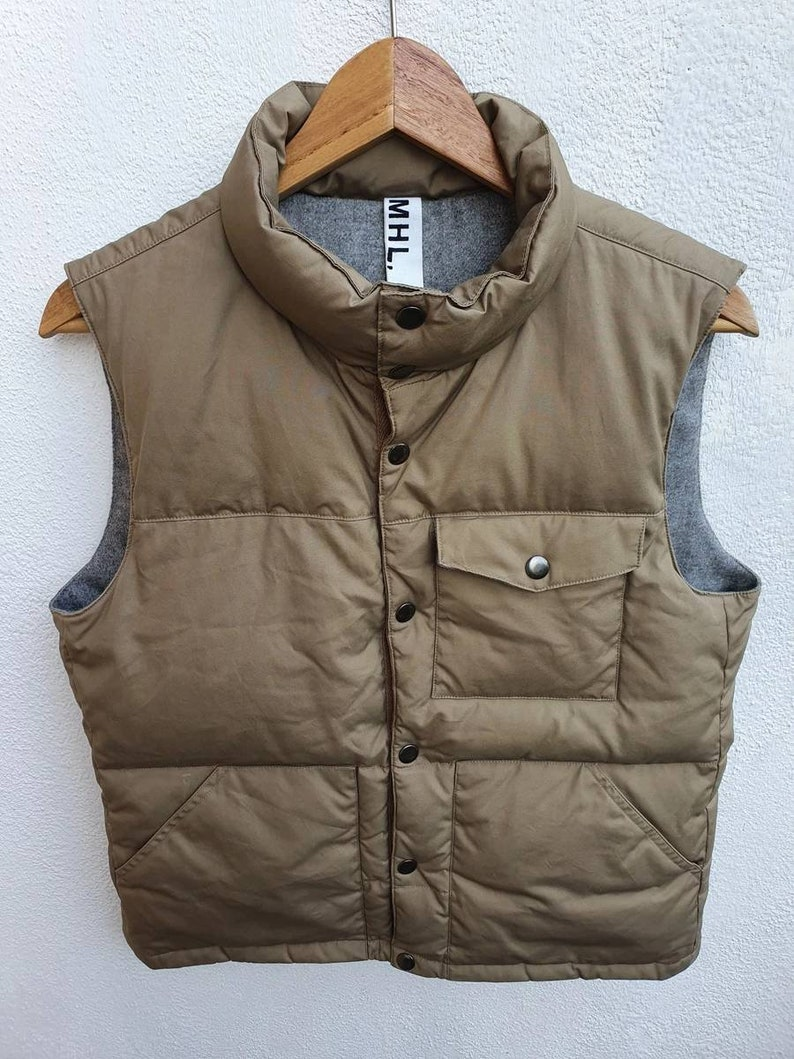 Vintage MHL Margaret Howell Inspired Function and Utility Vests Coat Jacket