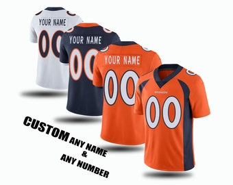 Broncos jersey | Etsy  free shipping