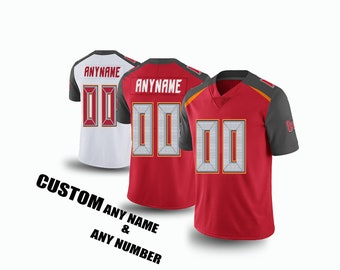 80b822648fe Buccaneers Personalized Custom Number & Name Men/Women/Youth Stitched Jersey  Colors Available