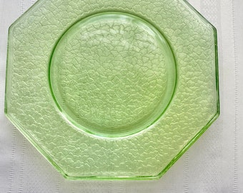 Ca1920 Depression Glass By Cracky pattern from Smith Glass Co. 9 Plates available