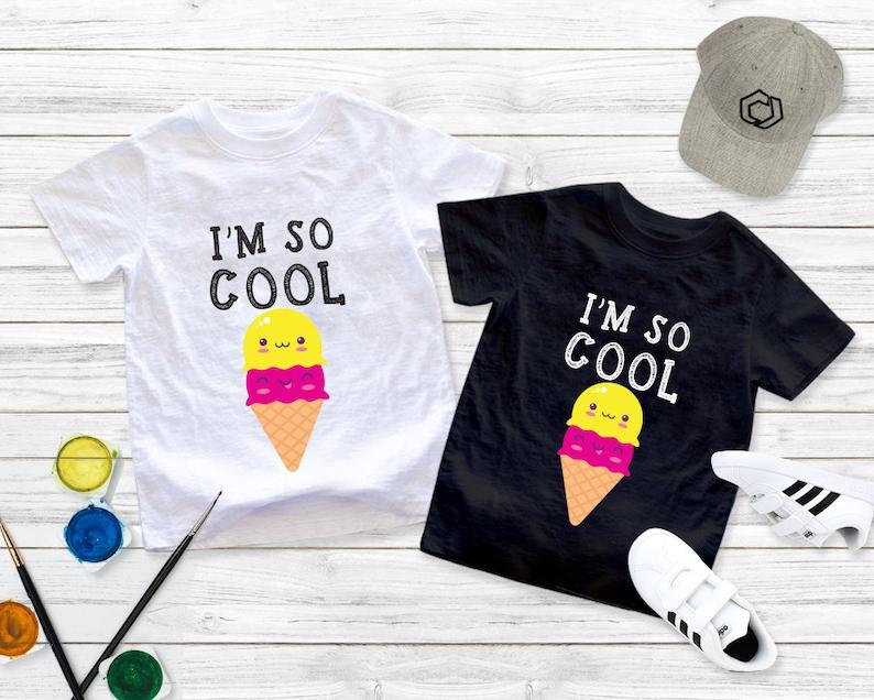 """Unique Baby Unisex /""""Cool Kid/"""" Shirt"""