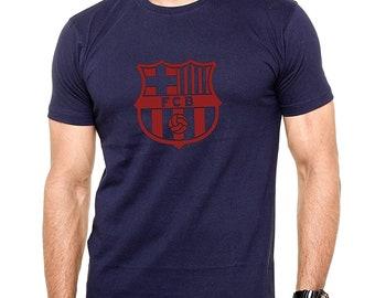00c9b9c8b4a FC Barcelona Logo Soccer Football T-Shirt