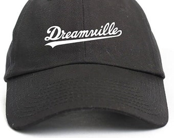875ea91e Dreamville J Cole Album Rapper Hip Hop Artist Baseball Black Cap Hat