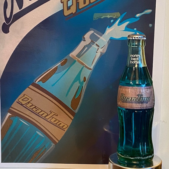 Unofficial Fallout Nuka Cola Victory Bottle
