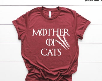 Mom Game of Thrones Inspired Mother of Crazy Kids T-shirt Mum Womens Gift