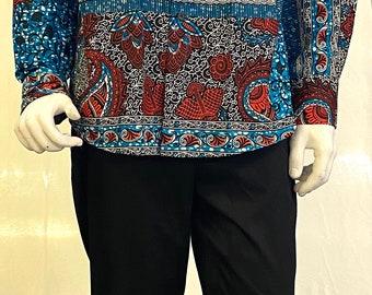 Afrian Ankara Men shirts