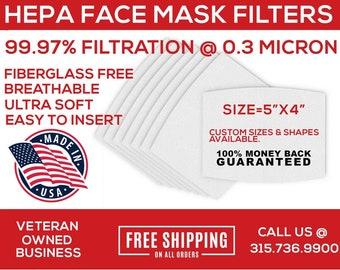 Filter for Mask, Face Mask Filter, Filter for Face Mask, Filter Insert, Face Mask Filter Insert, Mask Filter, HEPA FILTER for MASK, PM2.5