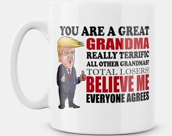 Great Grandma Mug | Trump Mug | Gift for Grandma | Trump