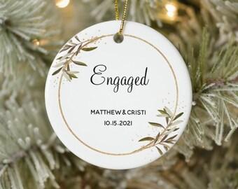 Custom Christmas Ornament | Family Ornament 2021 | Couples Christmas Ornament | Baby's First Christmas | Personalized Christmas Ornament