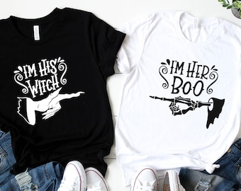 Boo Bees Funny Halloween Matching Coupe Mens Hoodie Sweatshirt