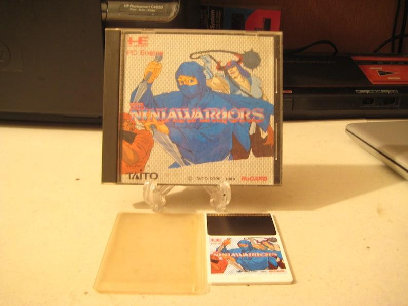 JAPAN IMPORT Ninja Warriors PC Engine/ SuperGrafx cib near mint condition