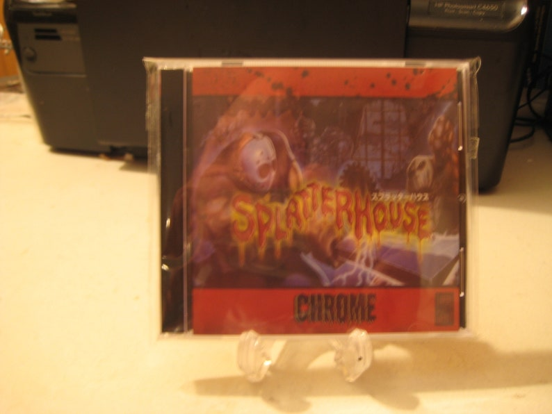 HOMEBREW REPRODUCTION Splater House Chrome cib new bosses/ weapons/ levels  ultimate hack