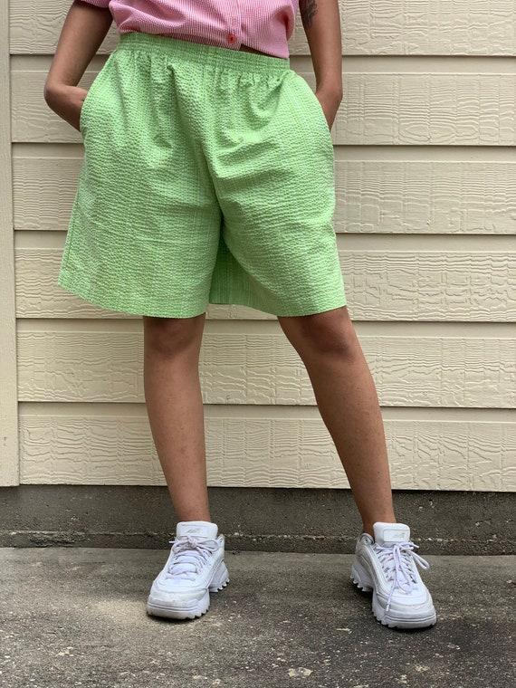 Vintage Green Shorts - medium - women vintage - vi