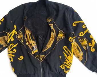 6a834127a Versace jacket | Etsy