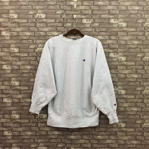 CHAMPION Sweatshirt/ Champion Grey Sweater/ Champi