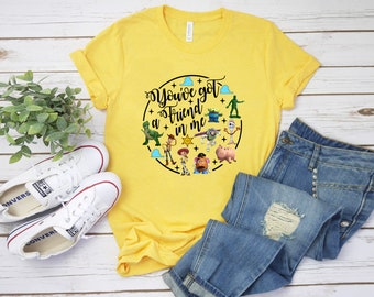 Toy Story You've Got a Friend in Me Shirt, Toy Story Shirt, Family vacation Shirt, Toy Story Shirt, Matching Shirt #1165