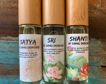 Trio of Yoga Essential Oil Blends