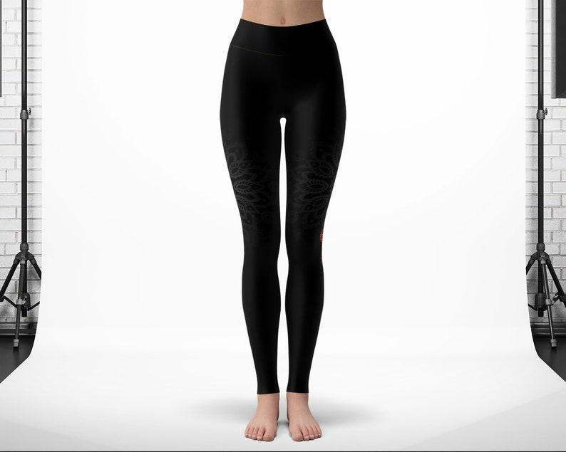 Spiritual Printed Tights Gym Clothes Workout Leggings Black Friday Sale Christmas Gift Chakra Yoga Leggings