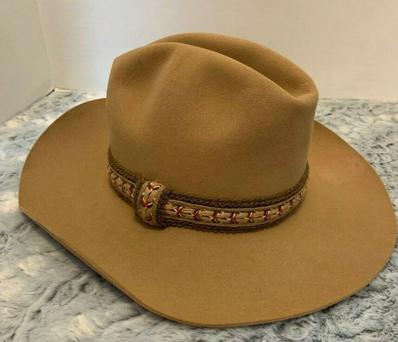 Vintage Resistol Western Fedora Hat Sweetwater col