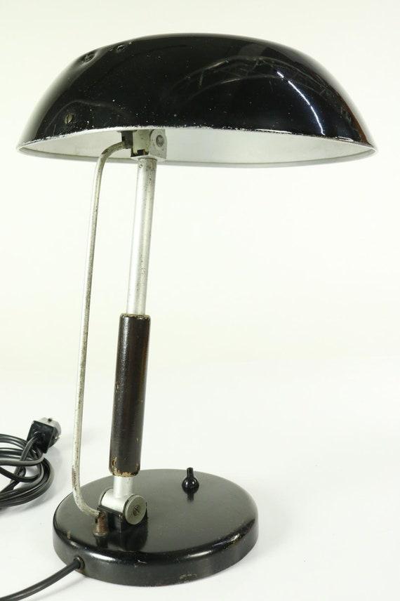 Table lamp Karl Trabert for G. Schanzenbach lamp vintage Bauhaus 30 Schaco