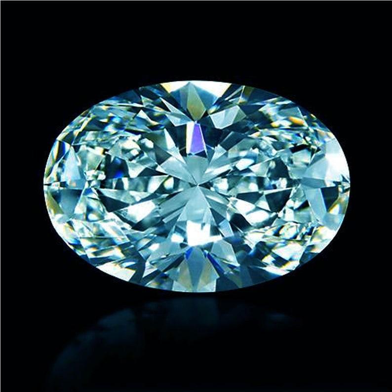 Black Blue Color Pear Diamond Cut Genuine Loose Moissanite VVS Best For Jewelry
