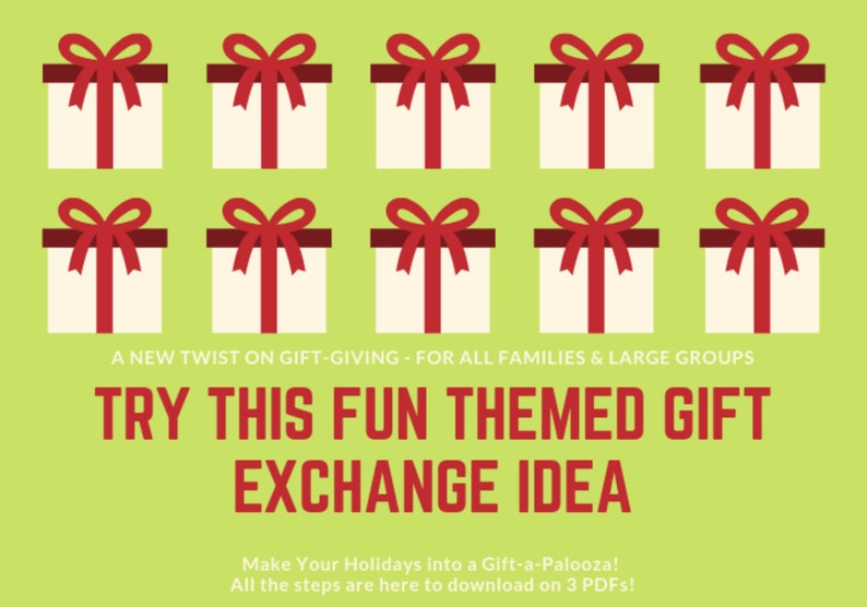 Themed Gift Exchange Idea  Large Family Gift Giving  image 0