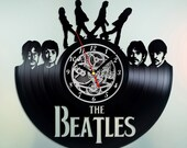 The Beatles Abbey Road Vinyl Record Wall Clock Unique Gift for Him and Her, Gift for Kids and Adults - Wall Decor Ideas for any Space