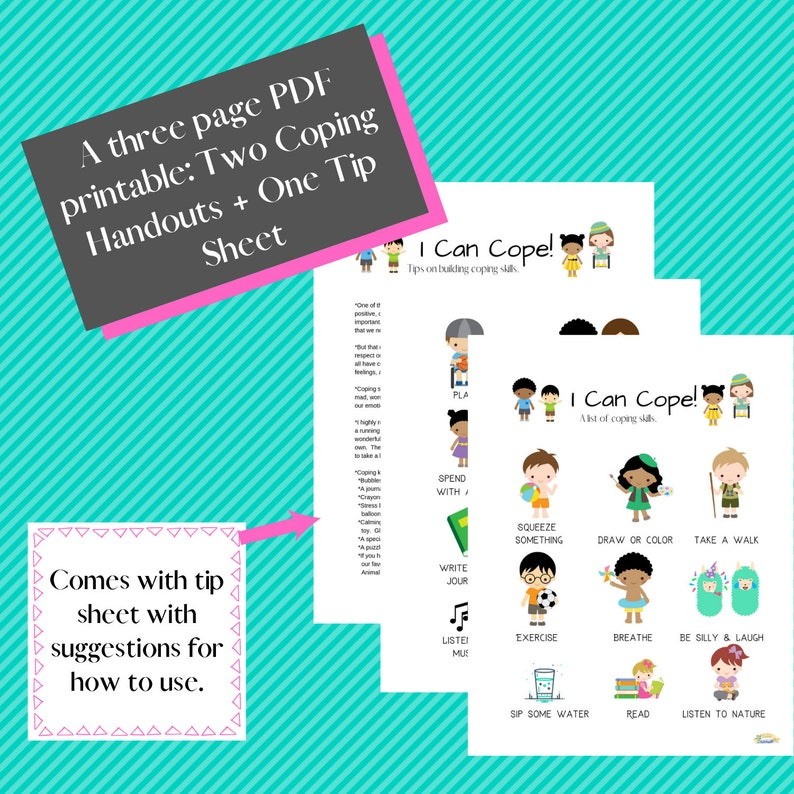 Coping Skill Handouts (Kids)