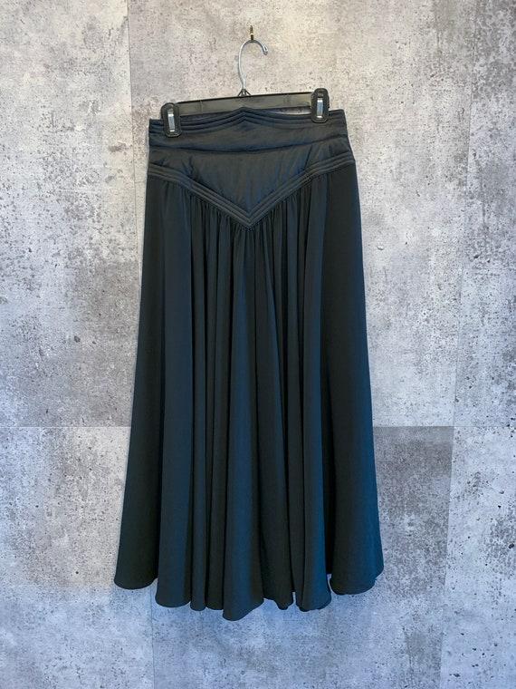 Vintage Midi Skirt/Wayne Clark/Party Perfect/Full