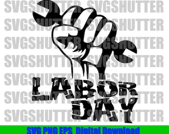 picture relating to Labor Day Printable called Labor working day printable Etsy