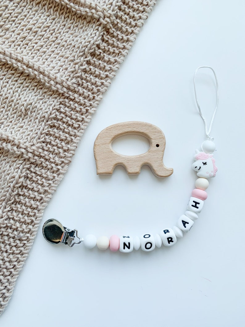 Handmade in Canada Baby Shower Gift Pacifier Personalised Pacifier Clip Soother Clip Pacifier Clip Pacifier Clip With Name