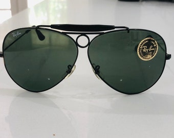 e6d7f8354e BL Ray Ban Aviators Shooter circa 1970s Authentic Bausch & lomb raybans rare