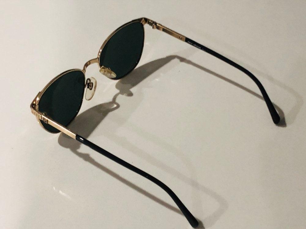 Nuevas gafas de sol Vintage Paco Rabanne Gold Plated