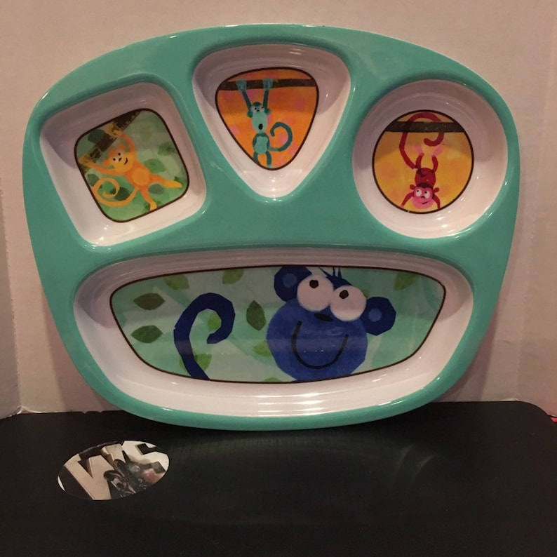 Circo Sectioned Child/'s Dinner Plate