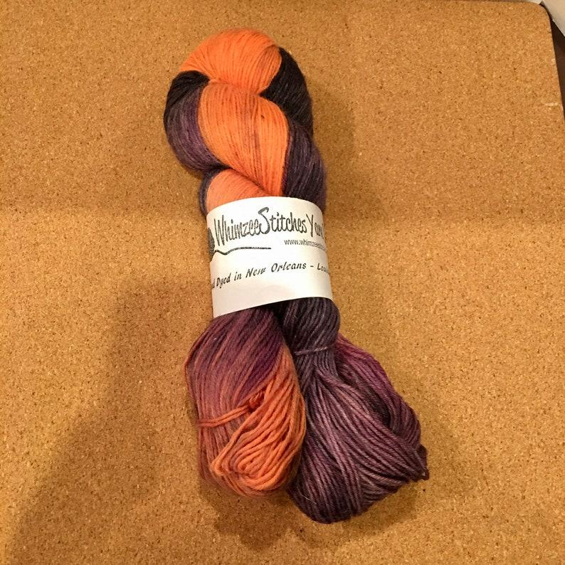 Whimzee Stitches Yarn Dark Halloween Night 437 Yards