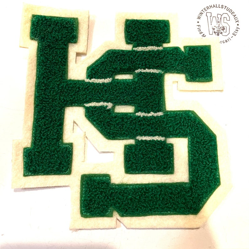 baseball cheerleading Varsity Letter Patch also soccer more